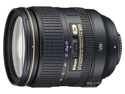 Objectif pour Reflex Nikon AF-S 24-120mm f/4G ED VR Nikkor