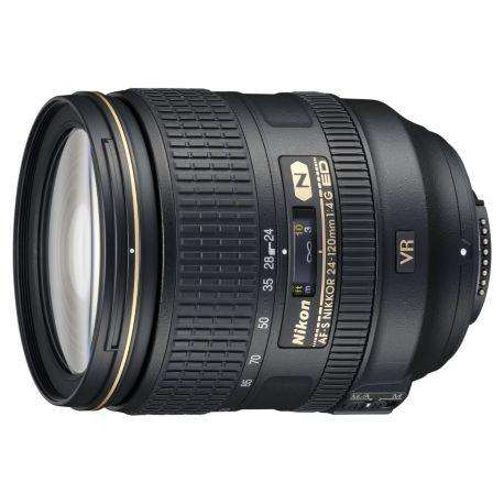 Objectif NIKON AF-S 24-120mm f/4G ED VR Nikkor