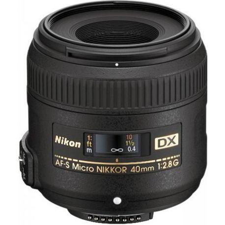 Objectif NIKON AF-S DX 40mm f/2.8G