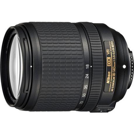 Objectif NIKON AF-S DX 18-140mm f/3.5-5.6G ED VR Nikkor