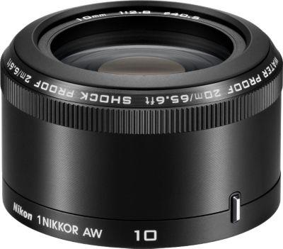 Objectif pour Hybride Nikon 10mm f/2,8 AW noir 1 Nikkor