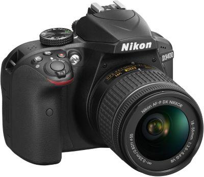 Appareil photo Reflex Nikon D3400 + 18-55mm VR + Sac + 8Go
