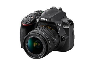 Reflex NIKON D3400 + 18-55mm VR + Sac + 8Go