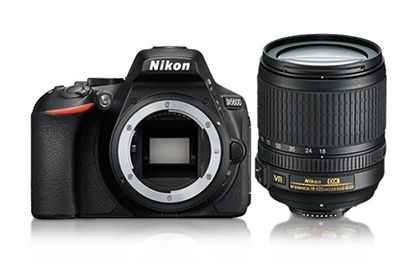 Reflex NIKON D5600 + 18-105 VR + 16Go + sac