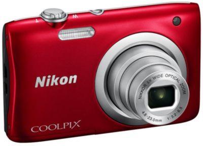 Appareil Photo compact nikon coolpix a100 rouge
