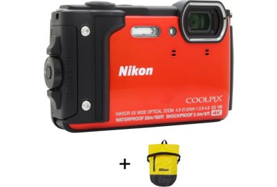 Nikon coolpix w300 orange sac tanche appareil photo - Boulanger appareil photo numerique ...