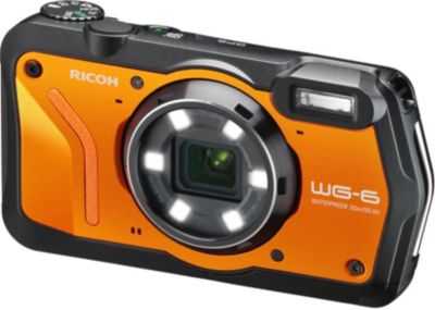 Appareil photo Compact RicohRICOH WG-6 ORANGE