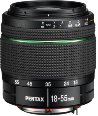 Objectif pour Reflex Pentax SMC DA 18-55mm f/3.5-5.6 AL WR