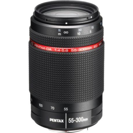 Objectif PENTAX SMC DA 55-300mm f/4-5.8 ED WR