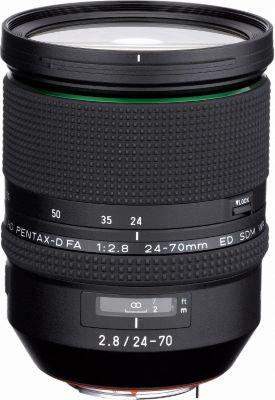 Objectif pour Reflex Plein Format Pentax HD DFA 24-70mm f/2.8 ED SDM WR