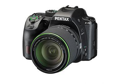 Reflex PENTAX K-70 noir + 18-50mm RE