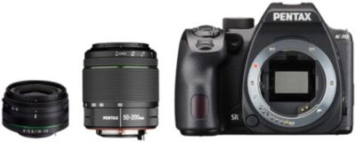 Appareil photo Reflex Pentax K-70 + 18-50mm RE + 50-200mm