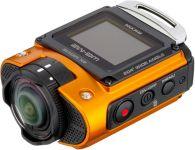 Caméra Sp.Extr. RICOH WG-M2 orange + poi