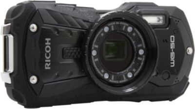 Appareil photo Compact Ricoh WG-50 noir + Dragonne flottante