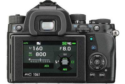 Reflex PENTAX KP Noir + 18-50mm