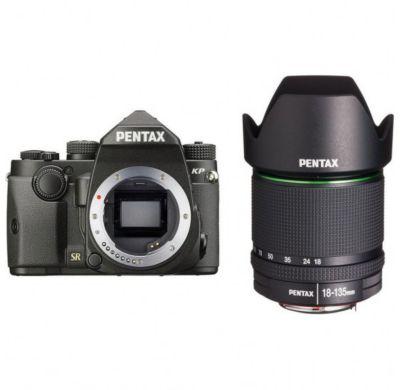 Appareil Photo reflex pentax kp noir + 18-135mm