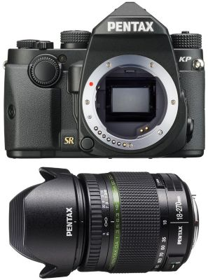 Appareil Photo reflex pentax kp noir + 18-270mm
