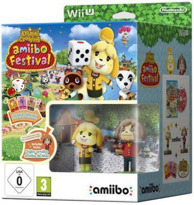 Jeu Wii U Nintendo Animal Crossing Amiibo Festival Limitée
