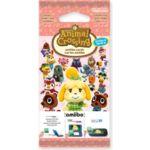 PACK NINTENDO 3 cartes Animal Crossing S
