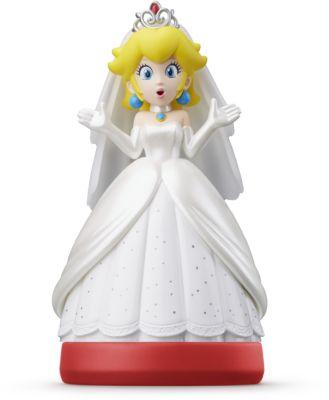Figurine Amiibo Nintendo Amiibo Peach Tenue de mariage