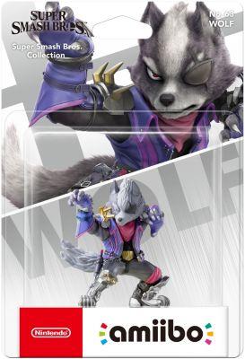 Figurine Amiibo nintendo amiibo wolf n°63 ssb