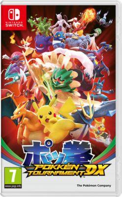 Jeu Switch Nintendo Pokkén Tournament DX