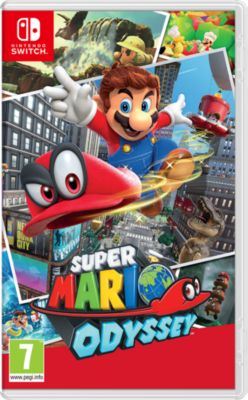 Jeu Switch Nintendo Super Mario Odyssey