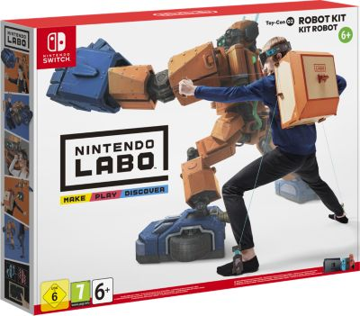 Jeu Switch Nintendo Nintendo Labo Kit Robot