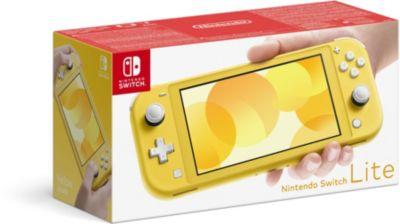Console Switch Lite Nintendo Switch Lite Jaune
