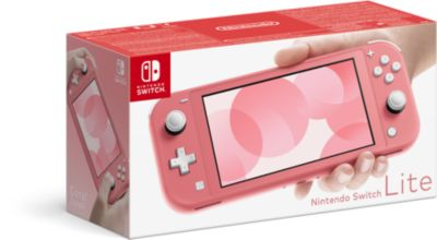 Console Switch Lite Nintendo Switch Lite Corail