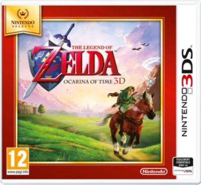 Jeu 3DS Nintendo The Legend of Zelda Ocarina Time Selects