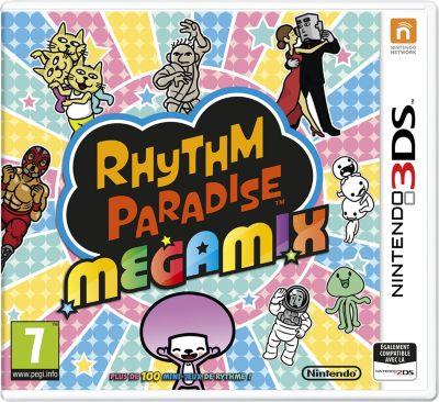Jeu 3DS Nintendo Rhythm Paradise Megamix