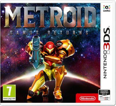 Jeu 3DS Nintendo Metroid Samus Returns