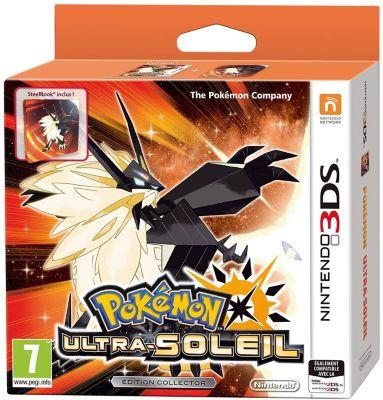 Jeu 3DS Nintendo Pokémon Ultra Soleil Ed collector