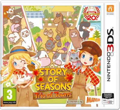 Jeu 3DS Nintendo Story of Seasons : Trio of Towns