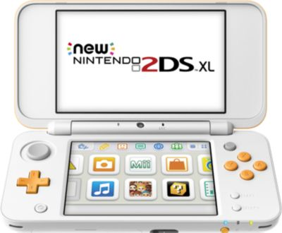 Console New 2ds xl nintendo blanche et orange