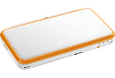NINTENDO New 2DS XL Blanche et Orange