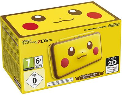 Console New 2ds xl nintendo new 2ds xl pikachu edition
