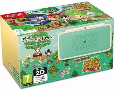 Console New 2DS XL Nintendo New 2DS XL Animal Crossing Nex Leaf