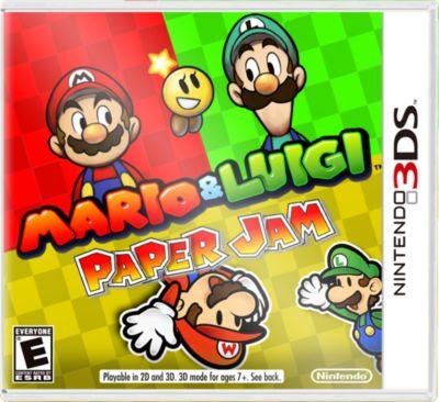 Jeu 3DS Nintendo Mario & Luigi Paper Jam Bros