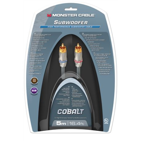 Subwoofer MONSTERCABLE 400sw High 5M Performance