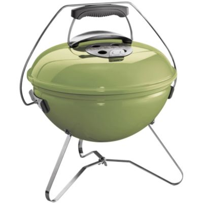 weber smokey joe premium 37cm spring green barbecue charbon de bois boulanger. Black Bedroom Furniture Sets. Home Design Ideas