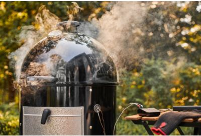 Barbecue WEBER SMOKEY MOUNTAIN COOKER 57 cm noir