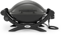 Barbecue WEBER Q1400 Dark grey