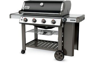 weber genesis ii e 410 gbs noir barbecue gaz boulanger. Black Bedroom Furniture Sets. Home Design Ideas