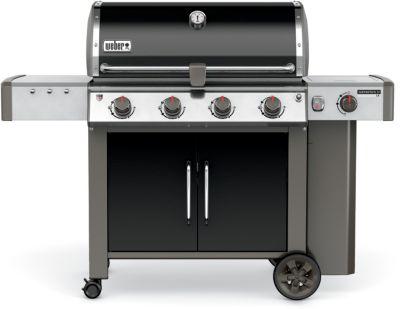 barbecue gaz weber genesis ii lx e 440 gbs noir boulanger. Black Bedroom Furniture Sets. Home Design Ideas