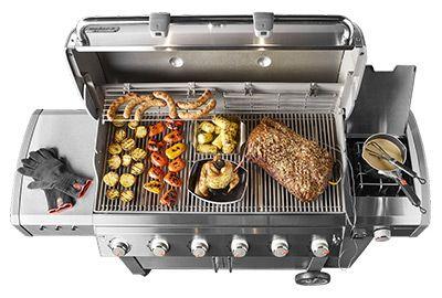 Barbecue WEBER Genesis II LX E-640 GBS Noir
