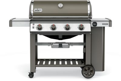 Barbecue Gaz weber genesis ii e-410 gbs smoke grey
