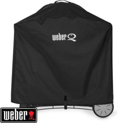 Housse barbecue Weber Premium séries Q2000 + chariot et Q3000