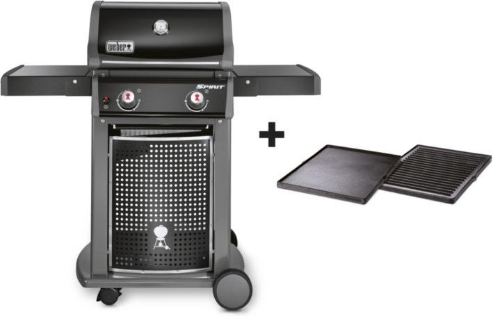 Barbecue WEBER Spirit Classic E-210 black + plancha